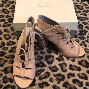 Hinge Lace Up Booties